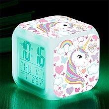 RJMAC Kids Alarm Clocks, Digital Wake Up Clock