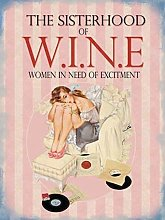 RKO Sisterhood of wine. Women need of excitement.