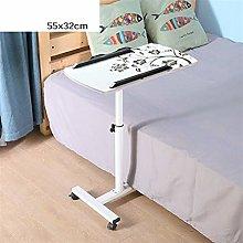 RKRXDH Laptop Table Bedroom Furniture Lazy Folding