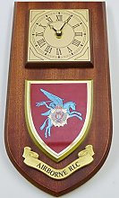 RLC Airborne Parachute regiment Wall / Mess Clock