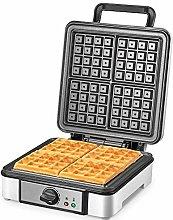 RLZ Stainless Steel Belgian Waffle Maker Non-stick