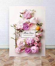 RMBoutique Premium Canvas Art/Miss Dior Art