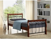 Robandy European Single Bed Frame ClassicLiving