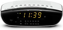 Roberts Chronologic VI FM Clock Radio - White