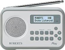 Roberts Play Digital Radio - Grey
