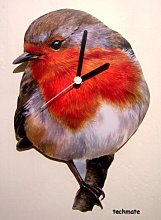 Robin Wall Clock - Made in the UK - B13A