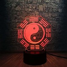 Robot 3D lamp 7 Color LED Night Lamps for Children
