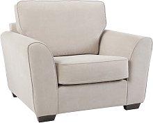 Roby Armchair Mercury Row Upholstery: Silver