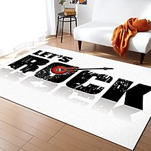 Rock Background Carpet for Living Room Home