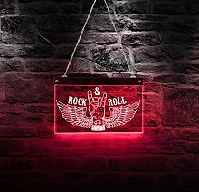 Rock N Roll Rock Music Multi-Colors Changing Led
