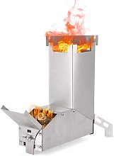 Rocket Stove, Outdoor Collapsible Wood Burning