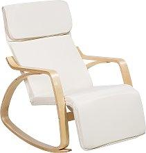 Rocking Chair Beige WESTON