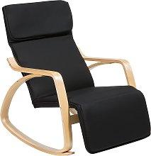Rocking Chair Black WESTON