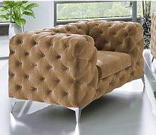 Rocky Armchair Rosdorf Park Upholstery Colour:
