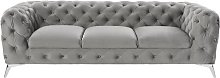 Rocky Sofa Rosdorf Park Upholstery Colour: Grey