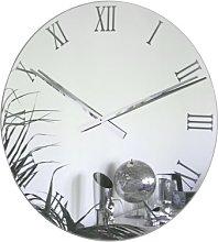 Roco Verre EXTRA LARGE Roman Mirror Clock (85cm