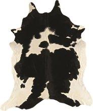 Rodeo Genuine Cowhide Rug in Black & White -