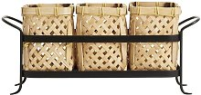 Rodern Bamboo Basket Holder