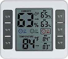 Roeam LCD Digital Indoor Thermometer Hygrometer