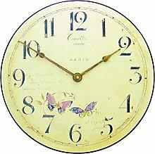 Roger Lascelles, Butterfly motif Wall Clock