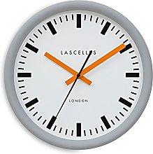 Roger Lascelles Clocks Wall Clock, Metal,