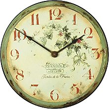 Roger Lascelles, French Vineyard Wall Clock