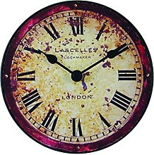 Roger Lascelles London Antique Clock, Wood,