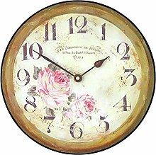Roger Lascelles, Medium sized Floral Wall Clock