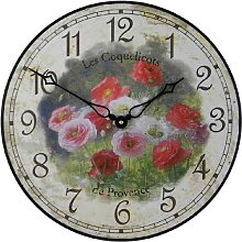 Roger Lascelles Poppierswooden Wall Clock