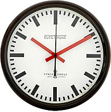 Roger Lascelles, Swiss station wall Clock with