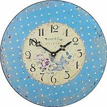 Roger Lascelles Wall Clock, Blue