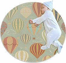 rogueDIV Hot Air Balloons Ultra Soft Cotton Baby