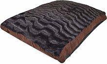Rohi Dog Bed Mattress Cushion, Textured Chocolate