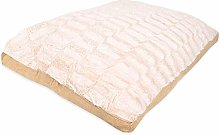 Rohi Dog Bed Mattress Cushion, Textured Cream