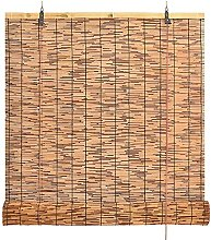 Roller Blinds,Natural Reed Curtain,Vintage Roman