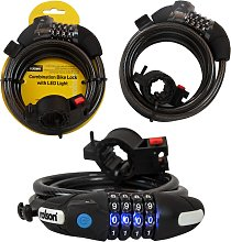 Rolson Lighted Bicycle Lock 10x1800mm
