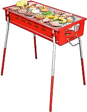 ROM Products Barbecue Grill, Portable Wood Stove,
