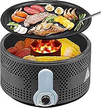 ROM Products Smokeless BBQ Grill,Portable Charcoal