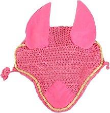 Roma Crochet Ear Cover (Full) (Pink/Gold)