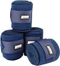 Roma Elastic Fleece Combi Bandage (3m) (Navy)