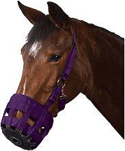 Roma Grazing Muzzle (Pony) (Purple)