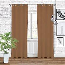 Romana Eyelet Blackout Single Curtain Ebern