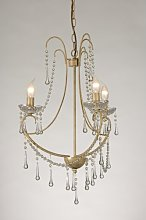 Romance 3-Light Candle-Style Chandelier Willa Arlo