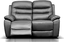 Romano Reclining 2 Seater Leather Sofa Available