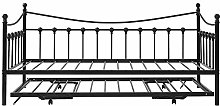 ROMANTIC BEAR Metal Bed Frame 3FT Metal Daybed