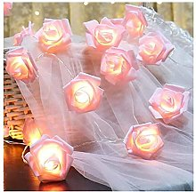 Romantic Pink Flower LED Fairy Lights with 3 m 20