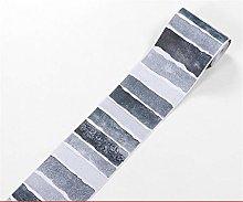 ROMDEANK Wallpaper Border Black and White Vertical