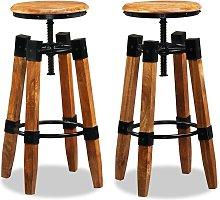 Romford Height Adjustable Bar Stool by Williston