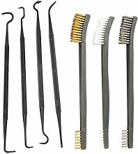Romote 7 Pcs Cleaning Brush And Picks Rifle