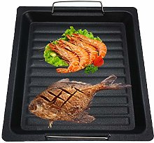 Romote Non-stick Bbq Grill Plate Cast Iron Griddle